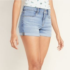 Old Navy High Rise denim shorts 6